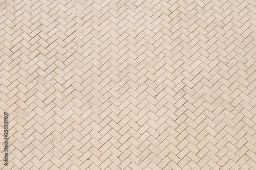 Fototapeta urban concrete paving slab floor in aerial perspective