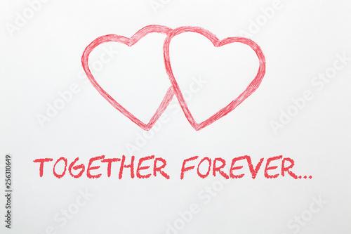 Fotografie, Obraz  Together Forever Concept