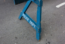 Police Fence, Close Up