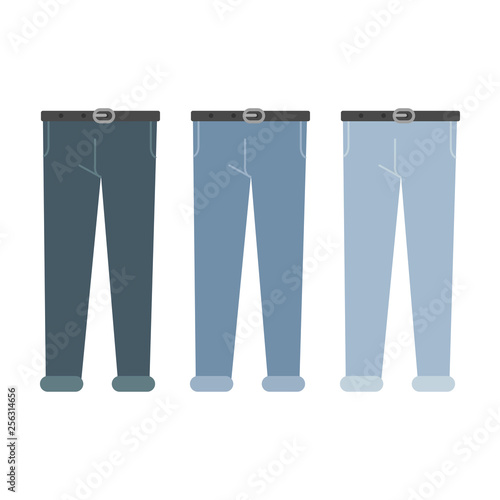Fotografie, Obraz  Men's jeans