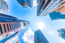 Singapore, High Rise Buildings...