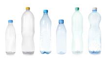 Set Of Empty Plastic Bottles O...