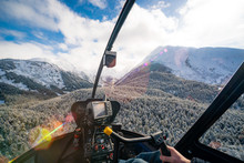 Anchorage Alaska In Helicopter