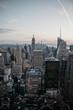 USA, New York, New York City in the morning light