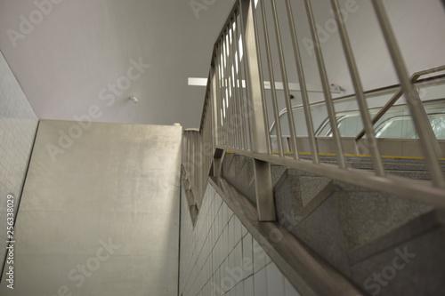 Fotografie, Obraz  Escada do metro