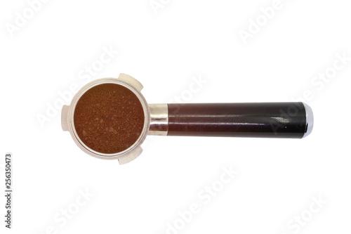 Fotografie, Tablou coffee bottomless portafilter