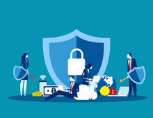 Technology Security. Concept B...