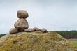 Aufgestapelte Steine