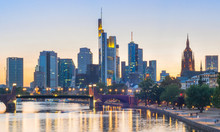 Panoramic View Frankfurt Downt...
