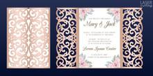 Laser Cut Wedding Invitation C...