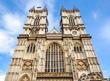 Westminster Abbey Facade, Lond...