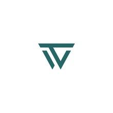 WT Letter Logo Vector Template