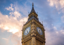 Big Ben At Golden Hour