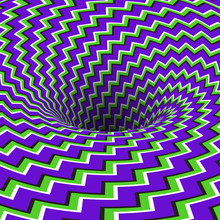 Absorbing Hole Of Zigzag Strip...
