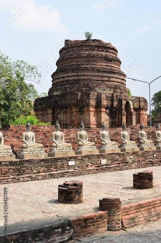Fotografia  Wat Yai Chaya Mongkol , tajlandia Ayutthaya