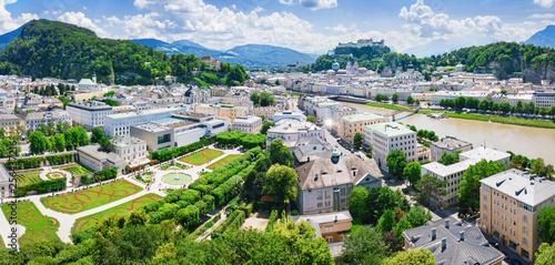 Fototapeta premium salzburg city austria