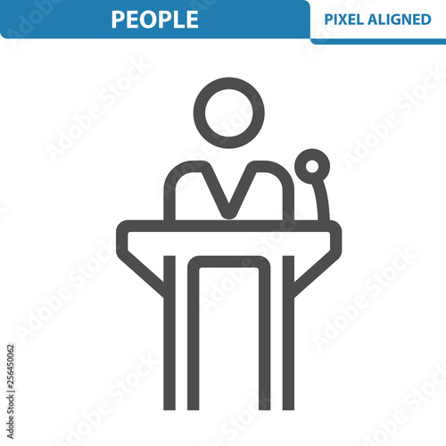 People Icon Fototapete