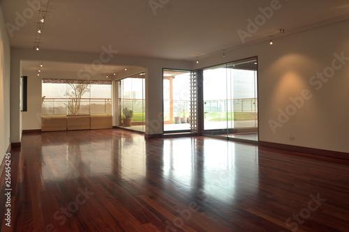 Obraz modern interior of a living room - fototapety do salonu