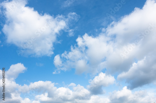 Canvas Prints Heaven blue sky background texture