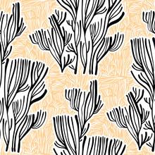 Branches Or Coral Algae Tree L...