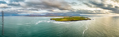 Fotografie, Obraz  Aerial view of Mullaghmore Head - Signature point of the Wild Atlantic Way, Coun