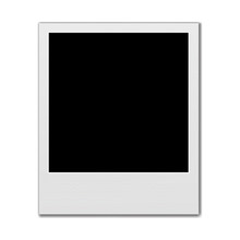Blank Instant Photo Frame Isol...