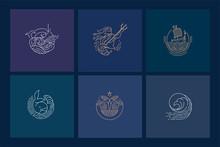 Vector Icon And Logo For Sea O...