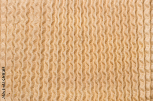 Fotografie, Obraz  Textura de papel corrugado