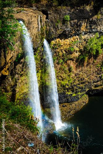 Beautiful Tropical waterfalls