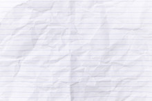 Top View Empty Lined Paper Wit...