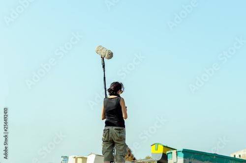Fotografia  equipo de cine nautico