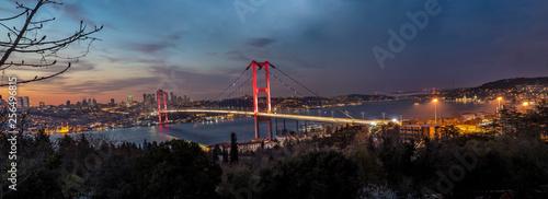 Canvastavla Bosphorus Panorama