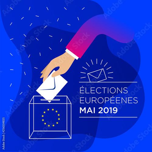 Fotografia, Obraz 2019 European elections