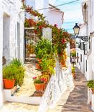 Fototapeta Uliczki - Old town of Frigiliana, Spain