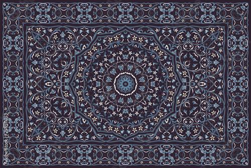 Carta da parati Vintage Arabic pattern