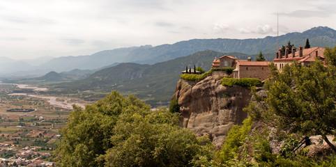 Fototapeta na wymiar Monastery Meteora, Thessaly Greece. Greek destinations
