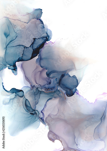 Fotografija  Abstract Alcohol Ink Background