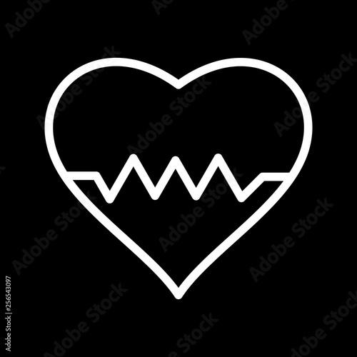 Fotografía  Illustration Heart Beat Icon