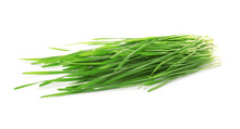 Green Organic Wheat Grass On W...