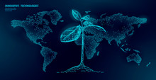 Plant Sprout Ecological Abstra...