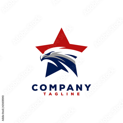 Tablou Canvas eagle logo design