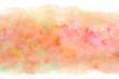 水彩 カラフル 春 抽象 背景