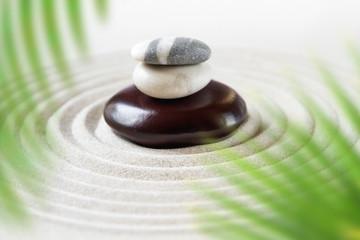 Fototapeta na wymiar Zen natural japanese garden background