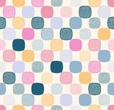 Bezszwowe kreatywne stylowe doodle kropki figlarny wzór - wektor - 256605667