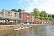 canvas print picture - Exeter Quay on the River Exe, Devon