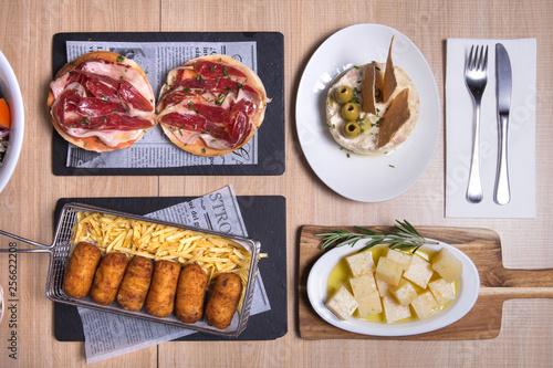 Foto  Spanish meal