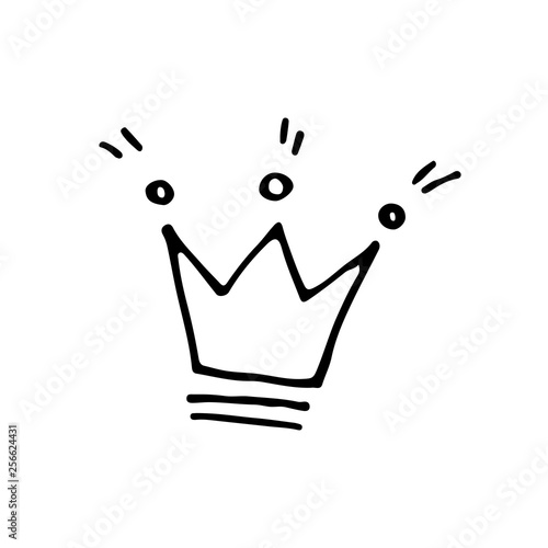 Cute Cartoon Hand Drawn Crown Icon Sweet Vector Black And White Crown Icon Isolated Monochrome Doodle Crown Icon On White Background Buy This Stock Vector And Explore Similar Vectors At Adobe Alibaba.com offers 820 cartoon crown products. cute cartoon hand drawn crown icon