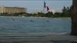 Mexican Flag on the beach
