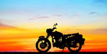 Silhouette Classic Motocycle O...