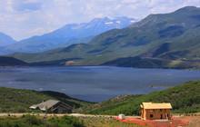 Scenic Jordanelle Reservoir In Utah